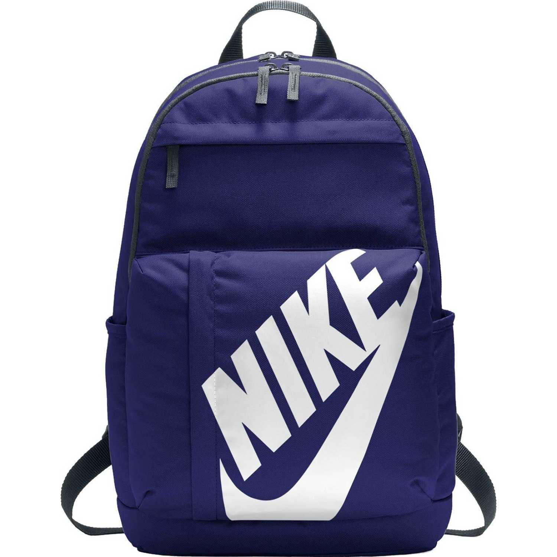 Nike nk elmntl bkpk Azul / blanco Mochilas Multipropósitos
