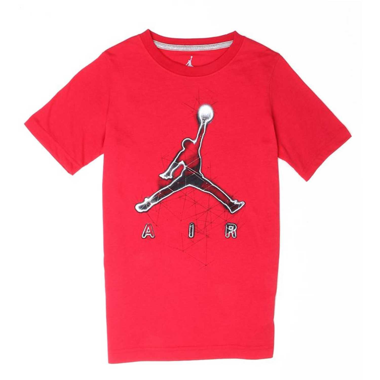 Nike jdb energy jumpman tee Rojo Tejidos y polos