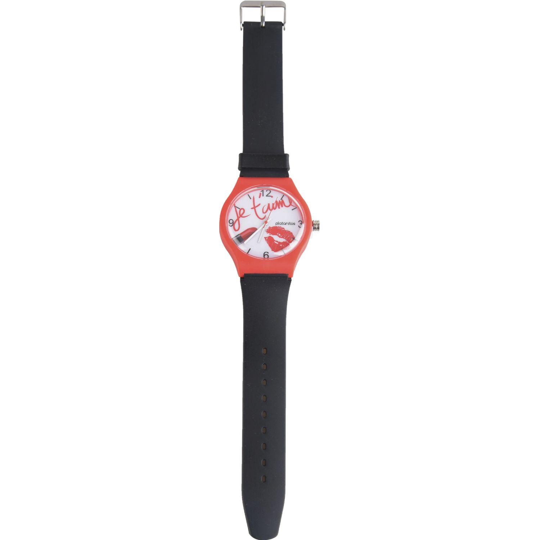 Platanitos Lw6706 Negro Relojes de pulsera