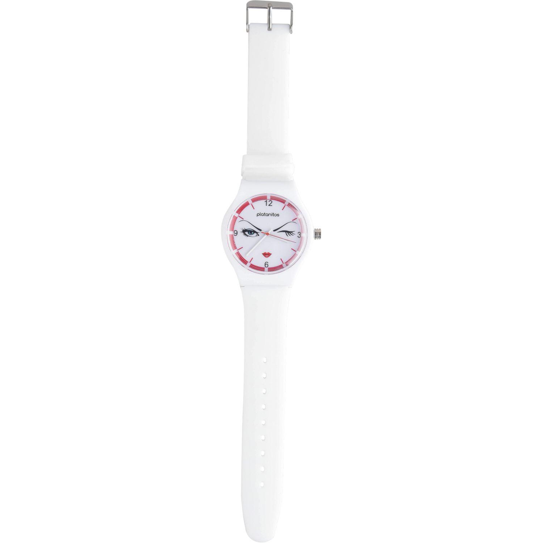 Platanitos LW6706 Blanco Relojes de Pulsera