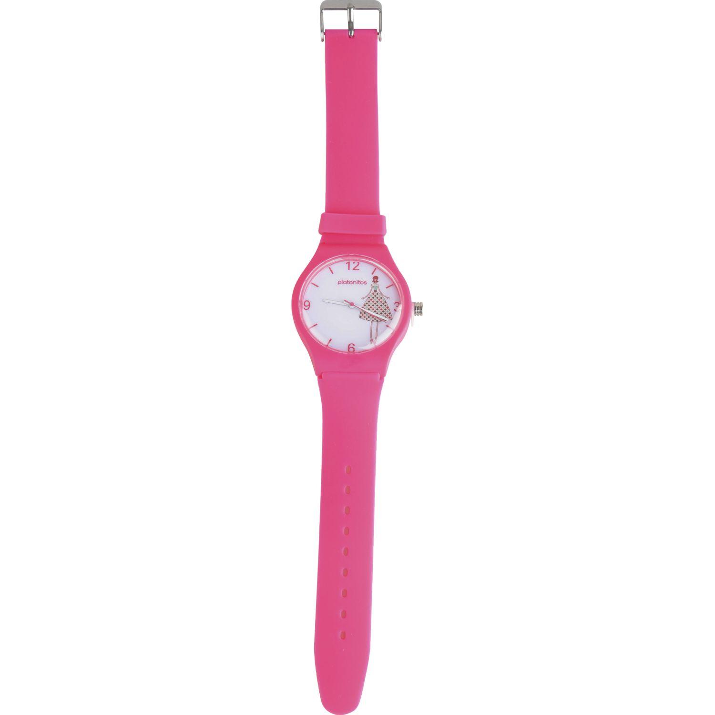Platanitos Lw6706 Fucsia Relojes de pulsera