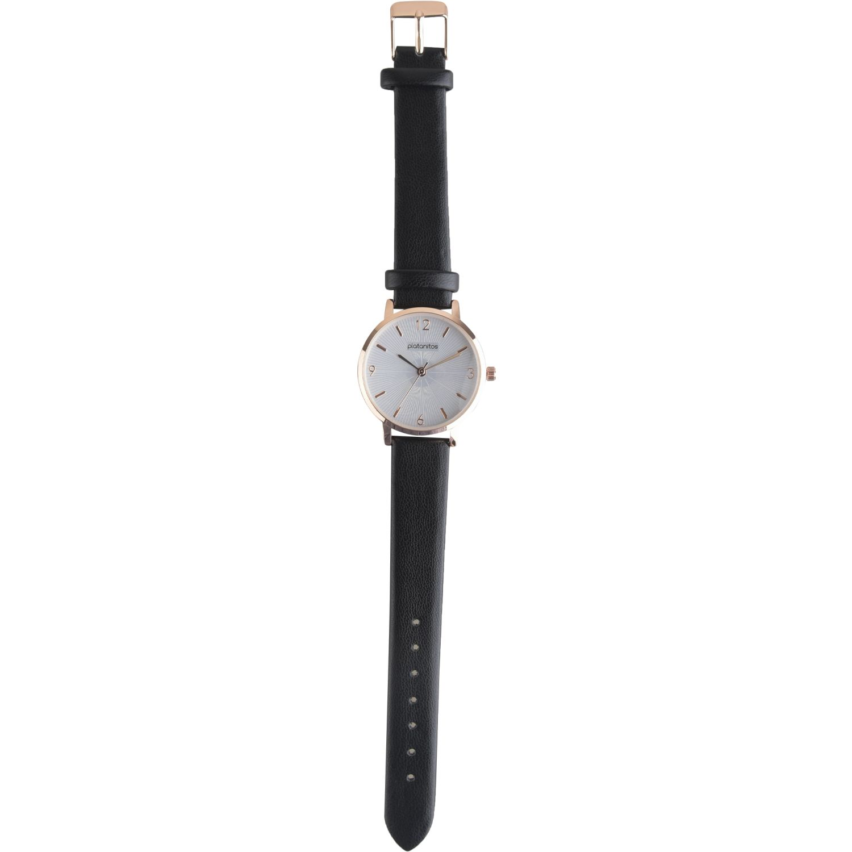 Platanitos Lw5826p Negro Relojes de pulsera
