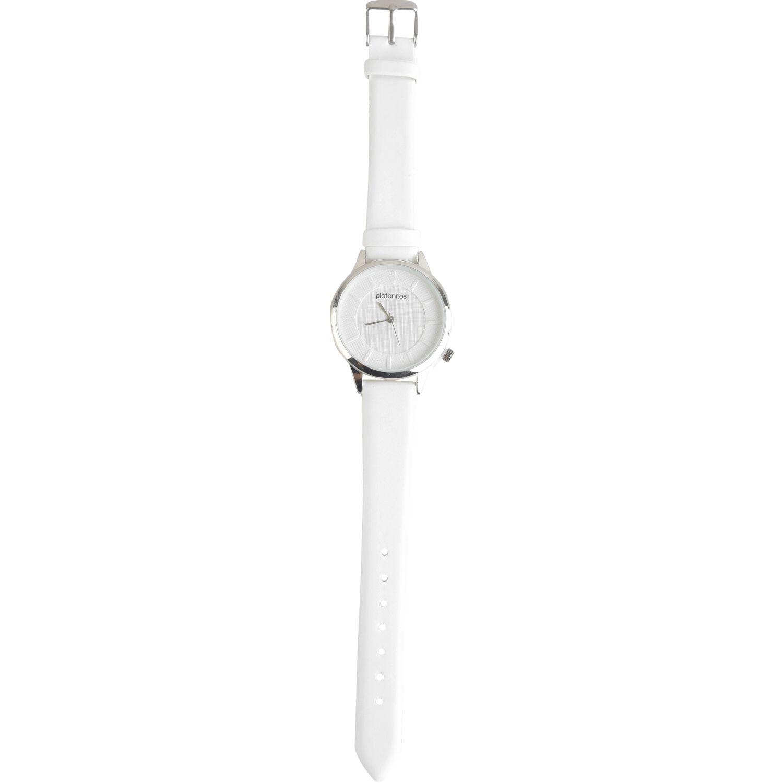 Platanitos Lw5687p Blanco Relojes de pulsera