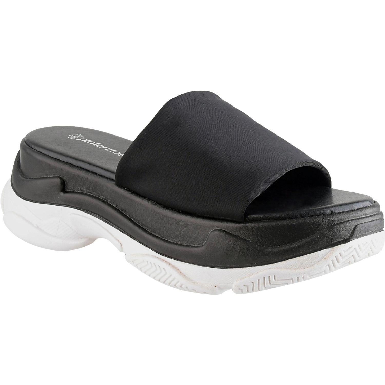 Platanitos SCHUN 048 Negro Slides