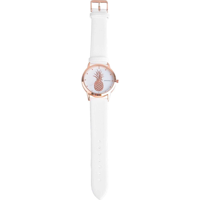 Platanitos lw5853p-1 Blanco Relojes de Pulsera