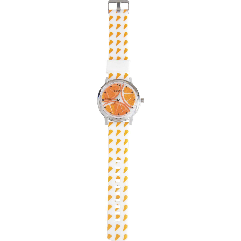 Platanitos Lw6197 Anaranjado Relojes de pulsera