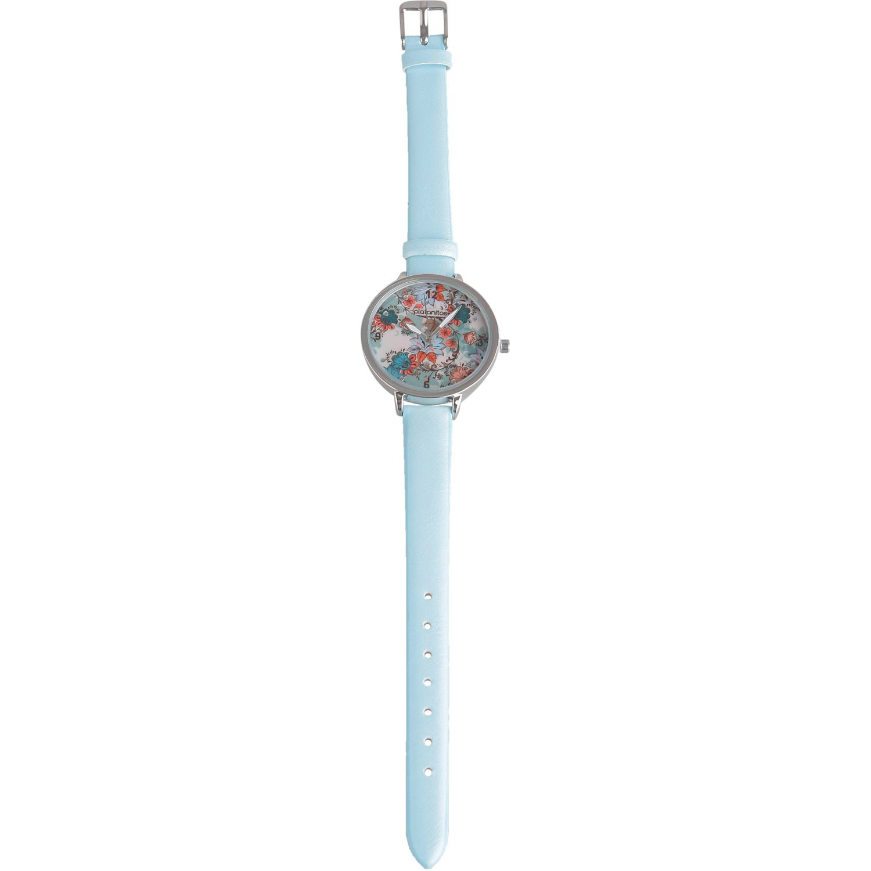 Platanitos Lw5815p Celeste Relojes de pulsera