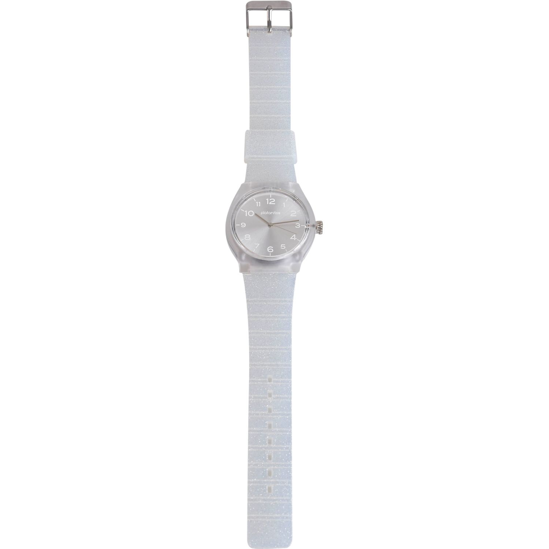Platanitos Lw6708-2 Blanco Relojes de pulsera