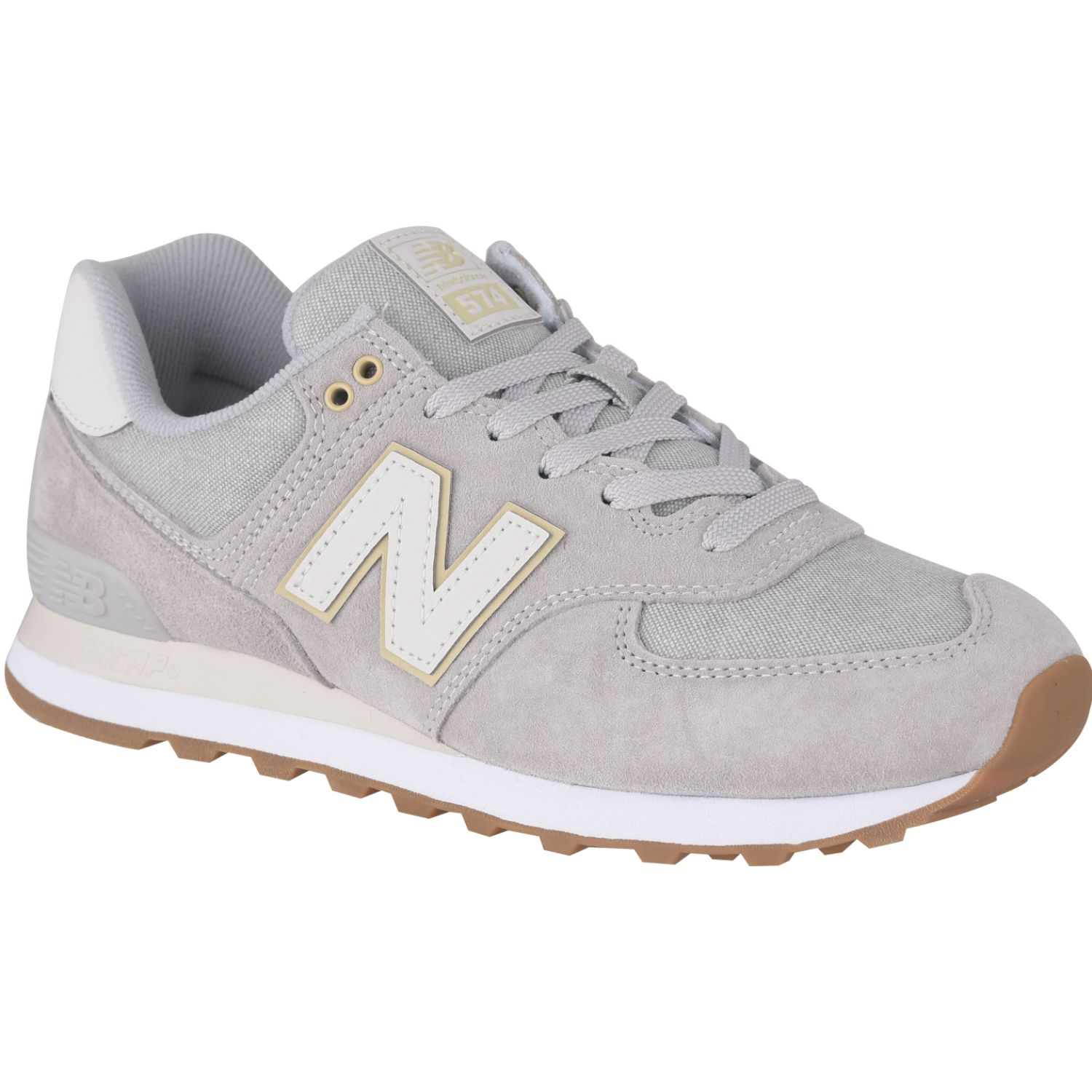 new balance hombres gris 574