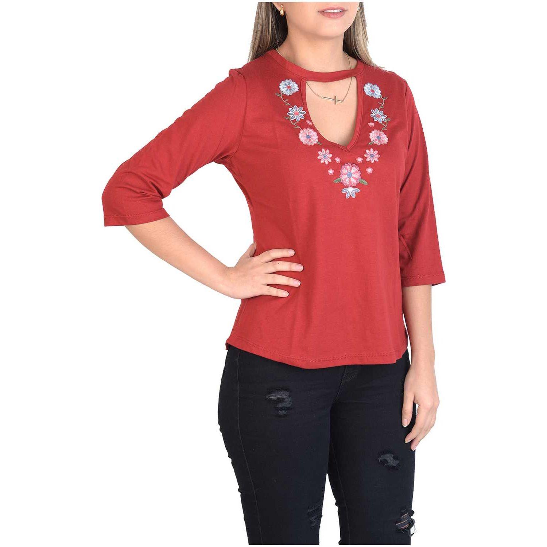 Andoas Clothing Polo Amelia Rojo Polos