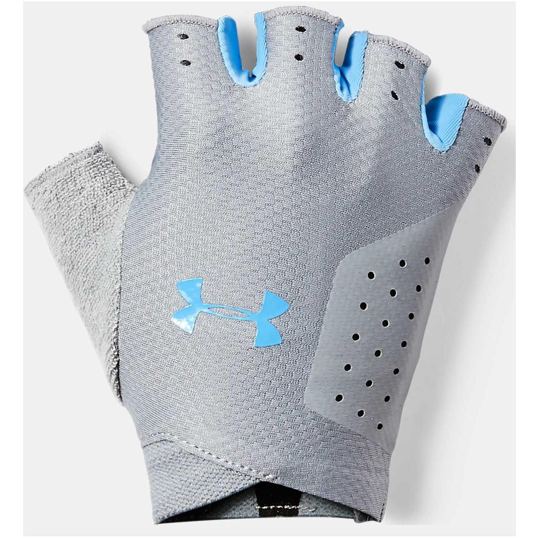 Under Armour women's training glove-gry Gris / celeste Guantes