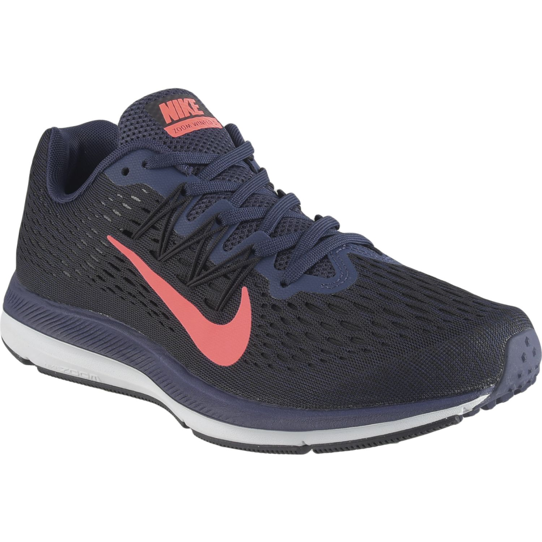 Nike wmns nike zoom winflo 5 Negro / rosado Running en pista