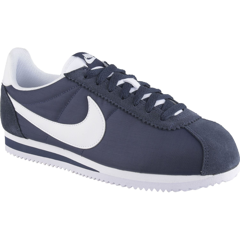 Nike classic cortez nylon Azul / blanco Walking