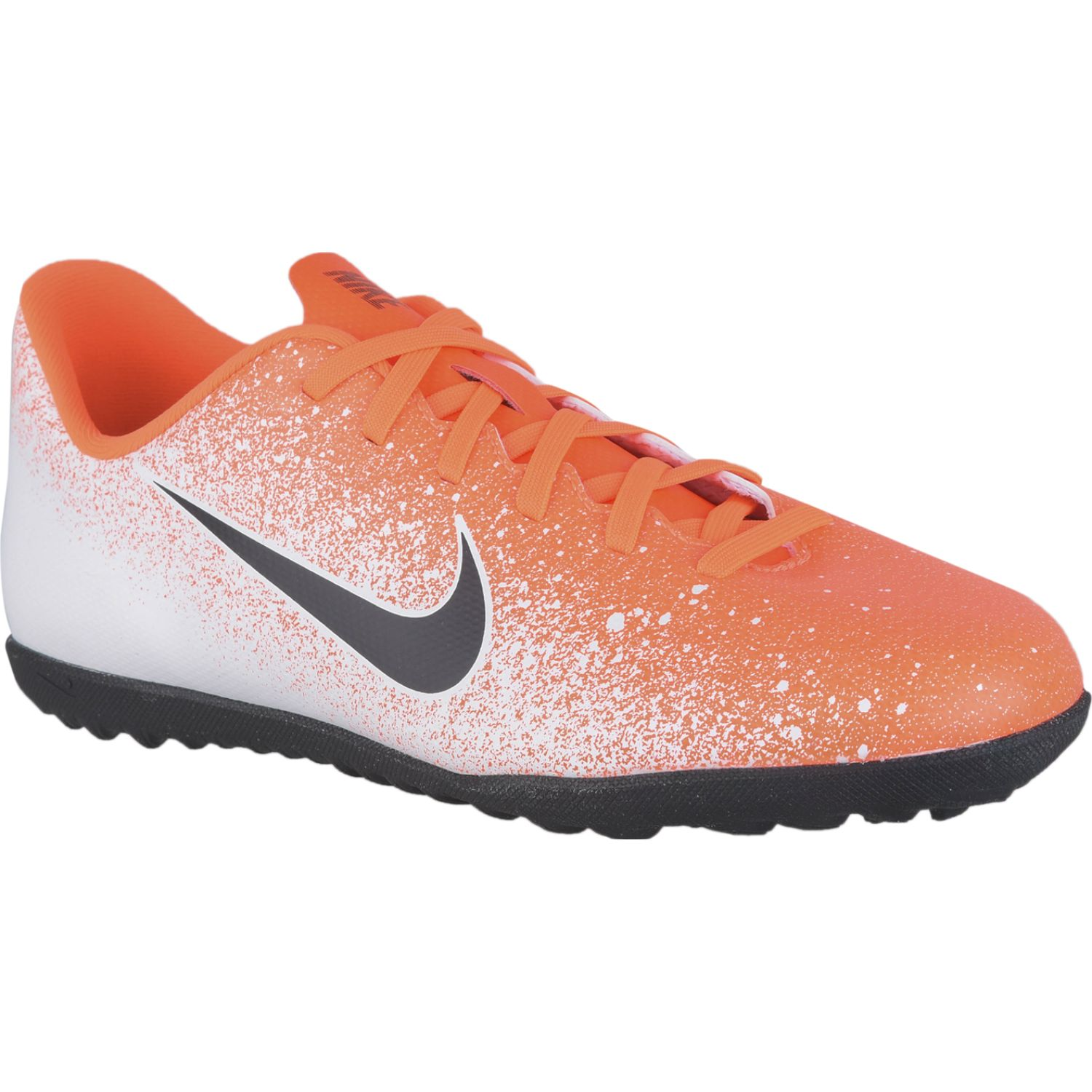 Nike jr vapor 12 club gs tf Blanco naranja Muchachos