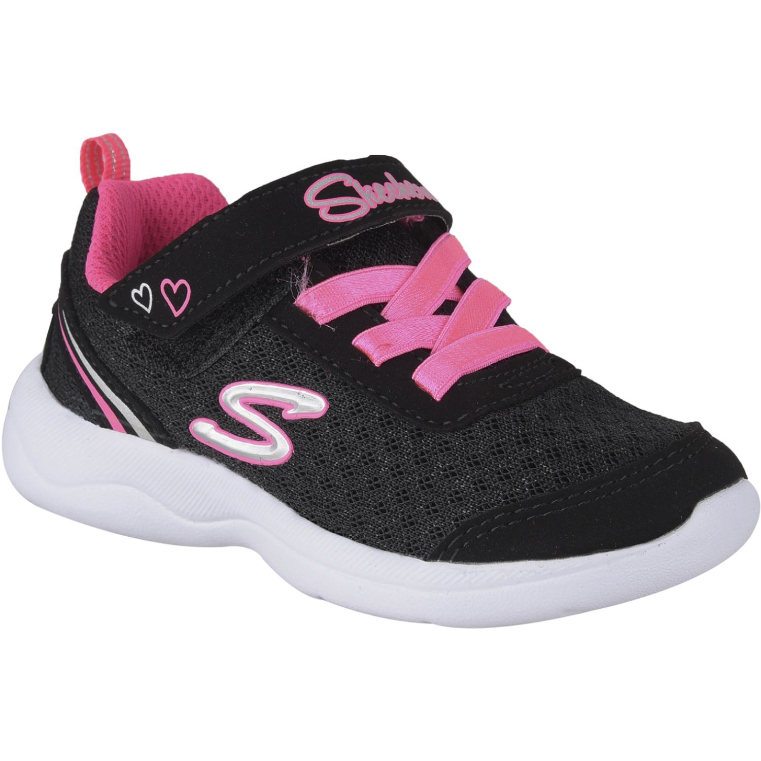 Skechers skech-stepz 2.0 - sparkle trainer Negro / fucsia Walking