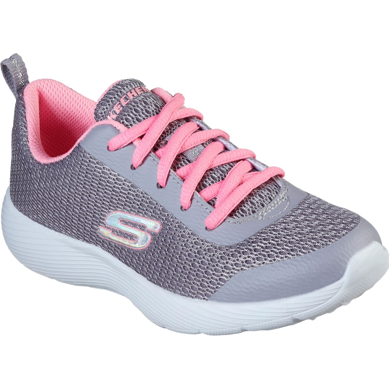 Skechers dyna lite - ultra dash Gris / rosado Walking