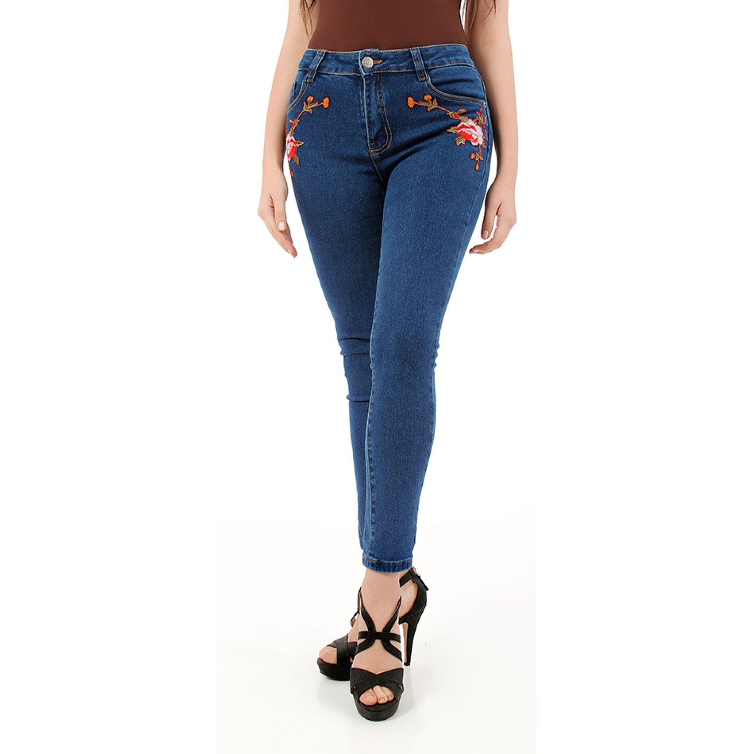 CUSTER BRODERIEW Azul Jeans