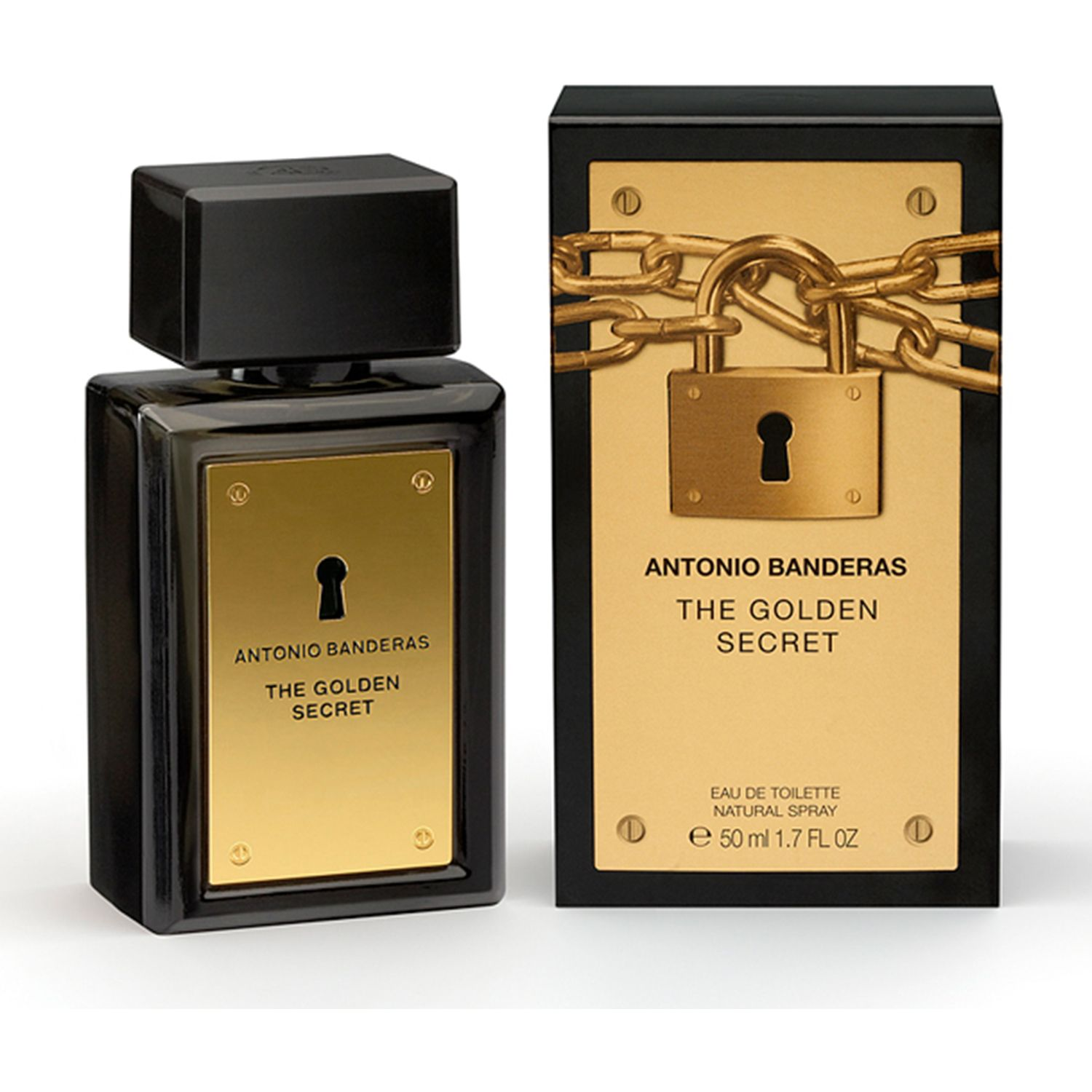 Perfumes de Hombre ANTONIO BANDERAS Varios secret golden edt 50ml