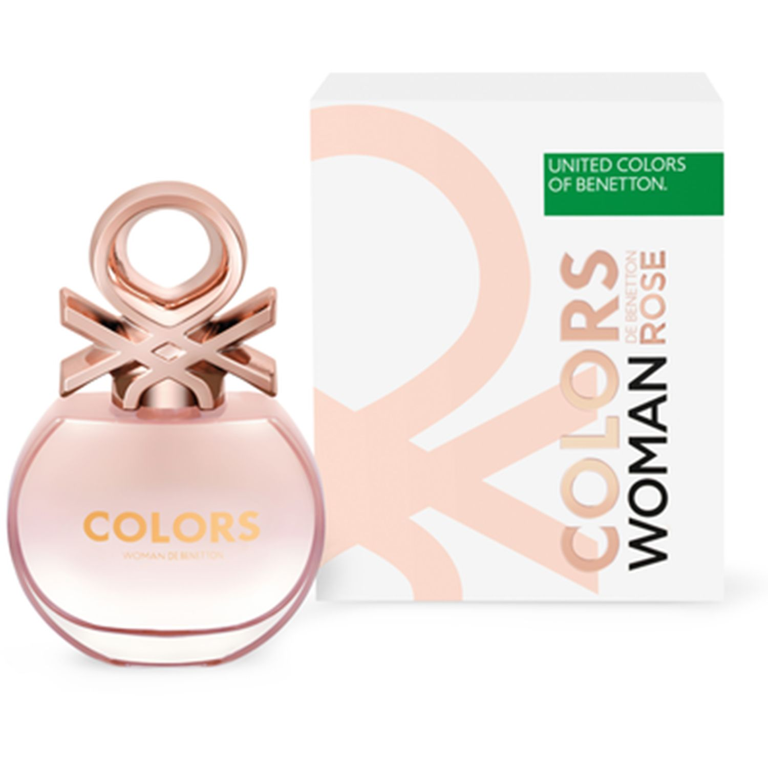 Benetton bnt colors woman rose  50ml Varios Colonia
