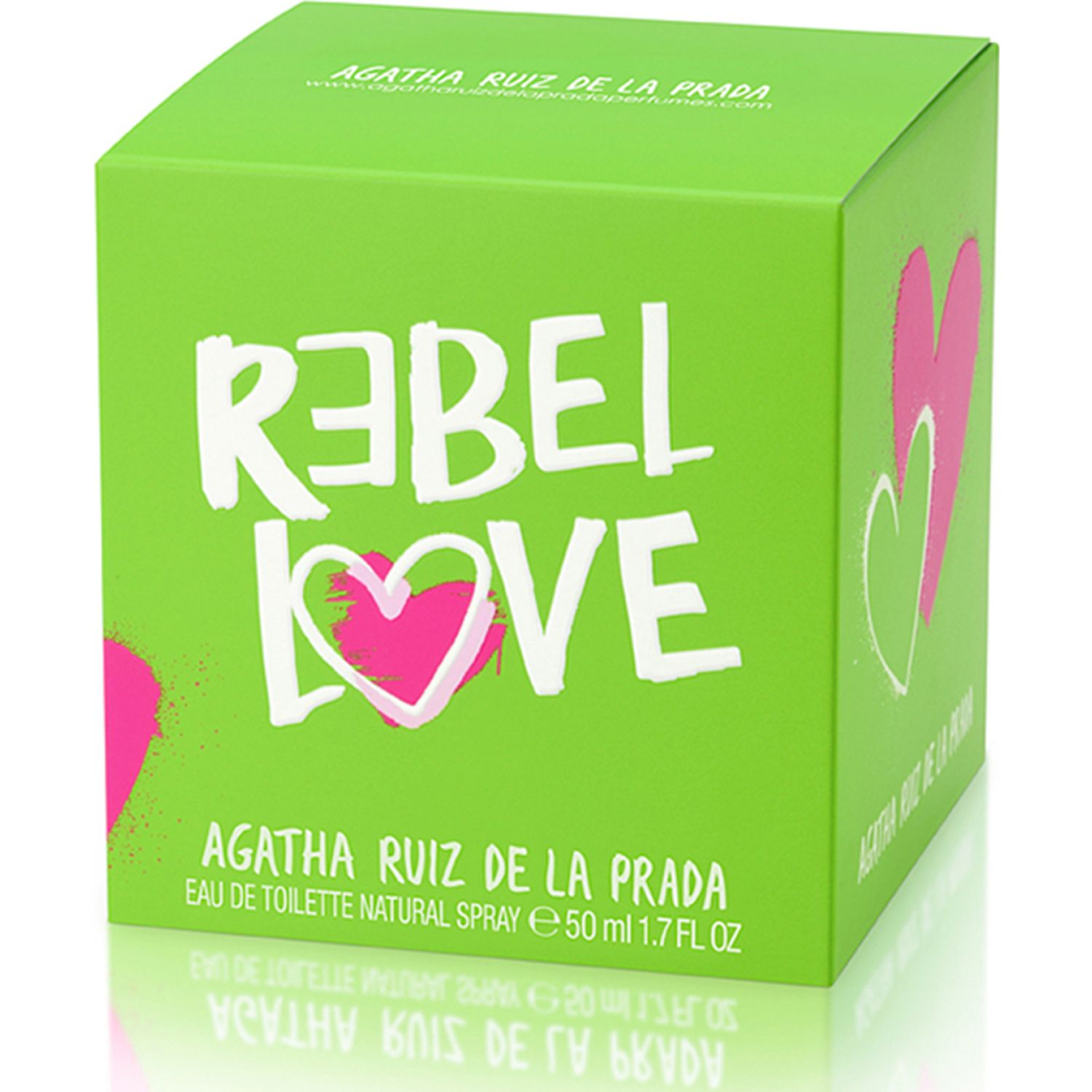 Agatha Arp Rebel Love Edt 50ml Varios Colonia
