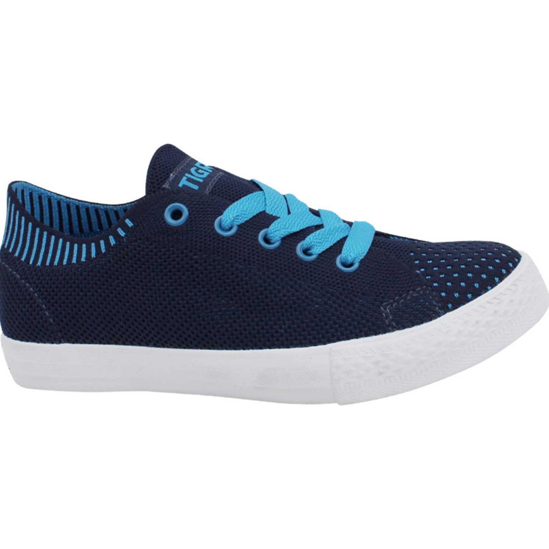 Tigre Capellada Tejida Azul Walking