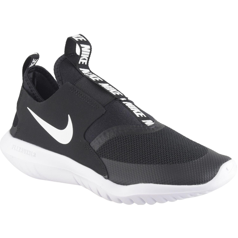 Nike Nike Flex Runner Gs Negro / blanco Muchachos