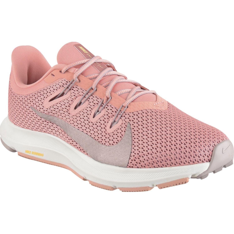 Nike Wmns Nike Quest 2 Coral / blanco Calzado de correr