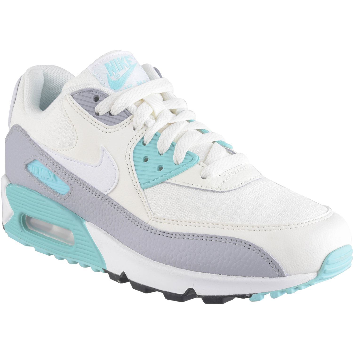 Nike w air max 90 Blanco / celeste Walking