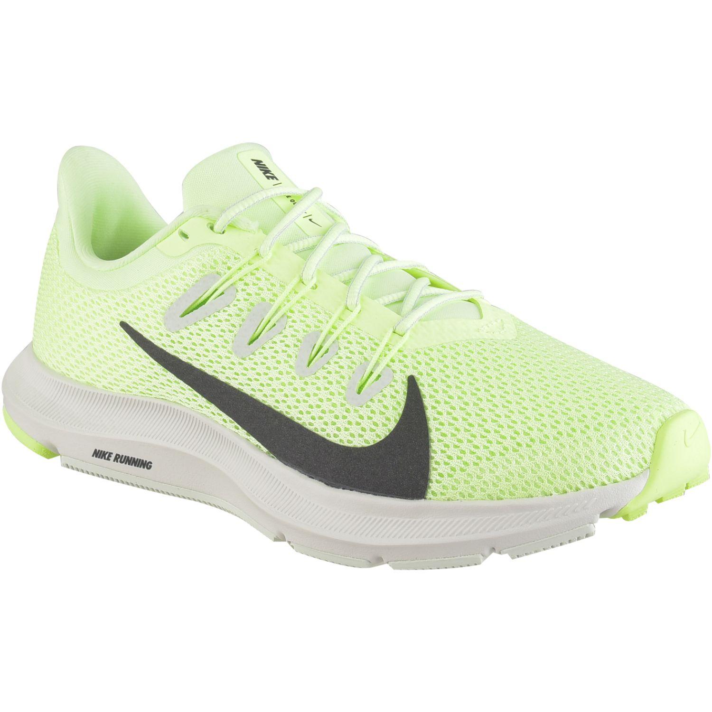 Nike WMNS NIKE QUEST 2 Verde / negro Running en pista ...