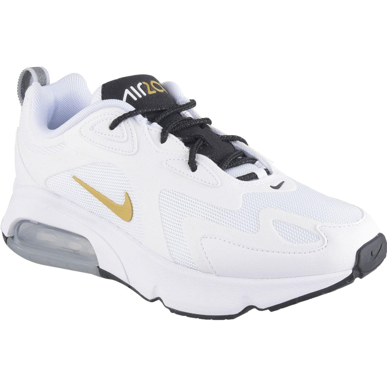 Nike w air max 200 Gris / dorado Walking