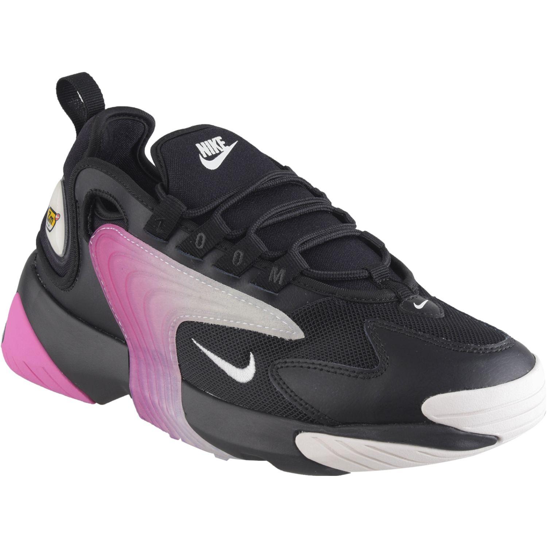 Nike wmns nike zoom 2k Negro / fucsia Walking