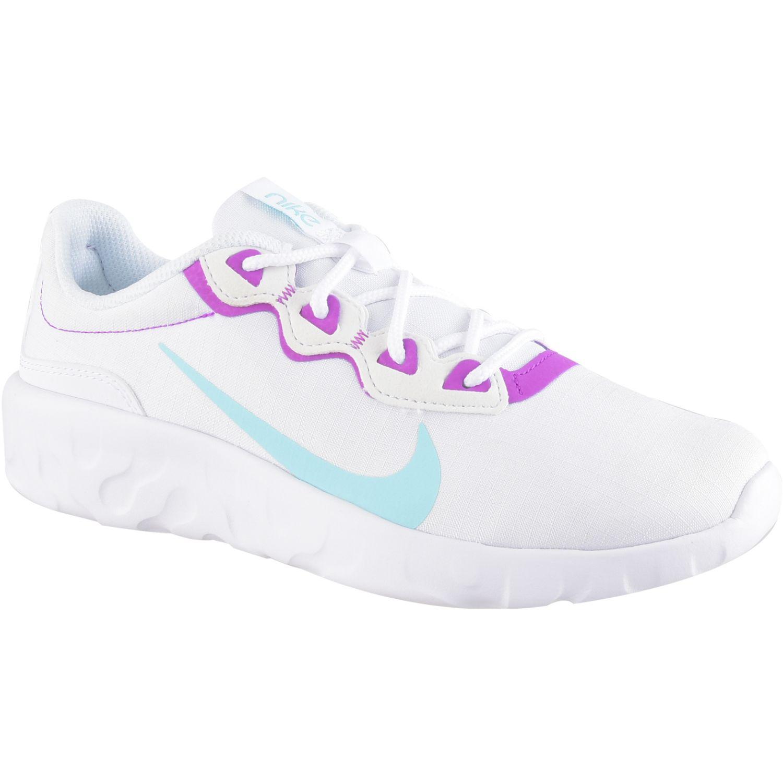 Nike Wmns Nike Explore Strada Blanco / morado Walking