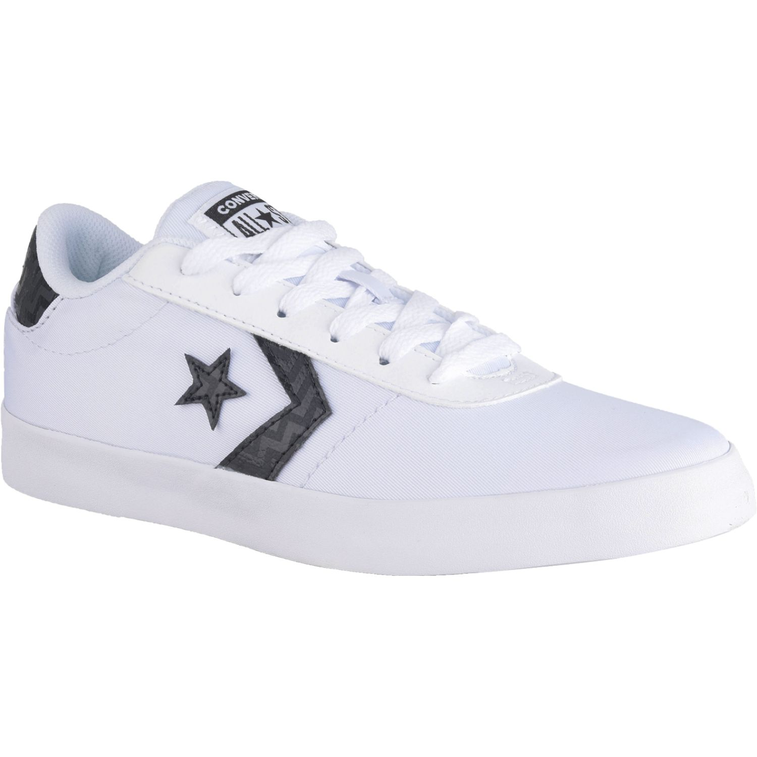 Converse converse point star glam dunk Blanco / negro Walking