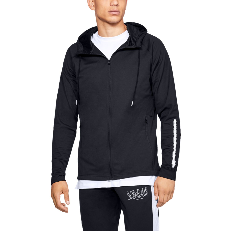 Under Armour ua baseline tricot jacket Negro Hoodies y Sweaters Fashion