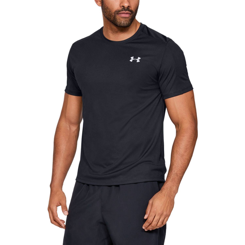 Under Armour Ua Speed Stride Shortsleeve Negro Camisetas y polos deportivos