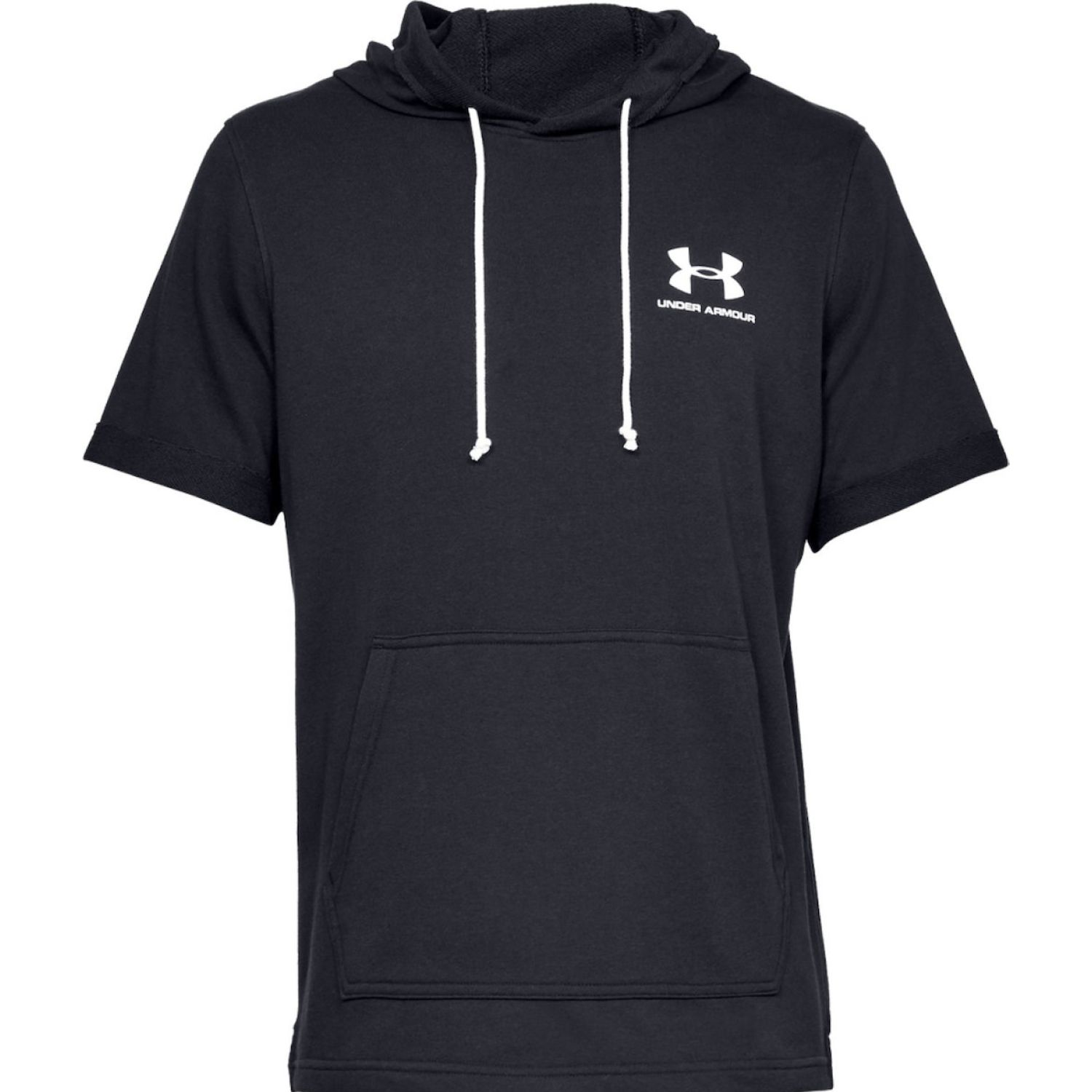 Under Armour sportstyle terry ss hoody Negro Hoodies Deportivos