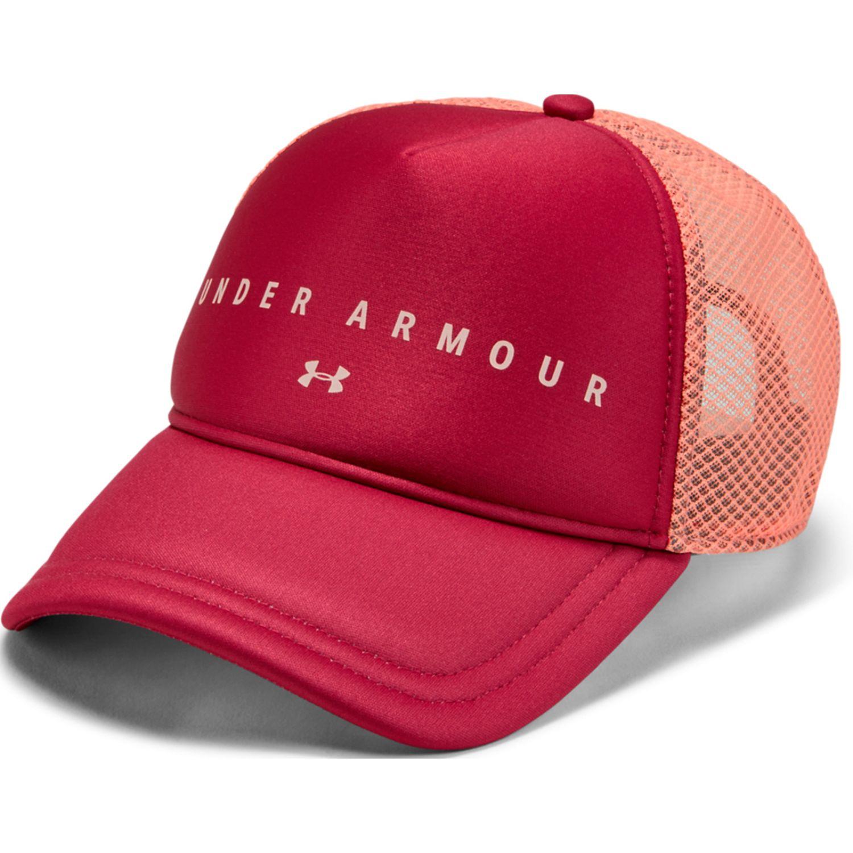 Under Armour diamond mesh trucker-pnk Burgundy Gorros de Baseball