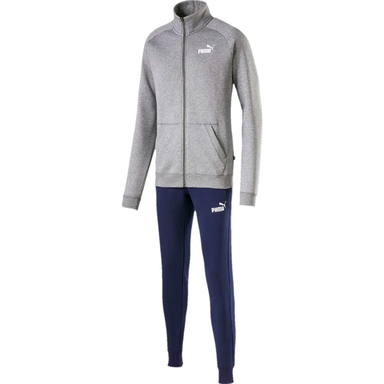 Puma clean sweat suit cl Gris Buzos Deportivos