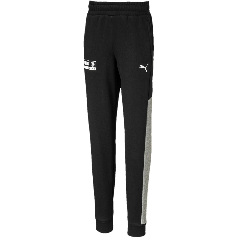 Puma alpha sweat pants fl b Negro Pantalones