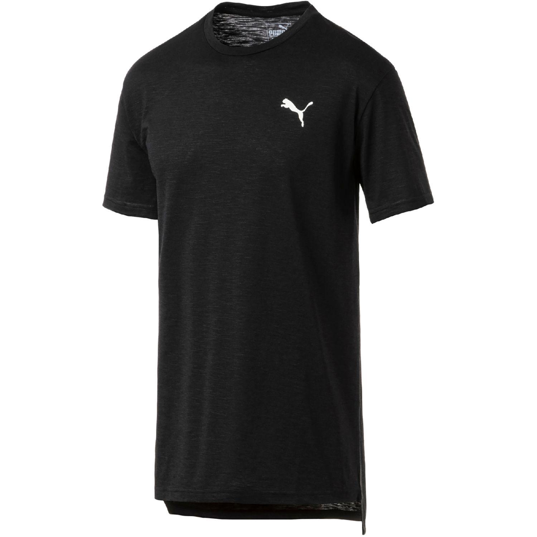 Puma Energy Ss Tee Negro Camisetas y Polos Deportivos