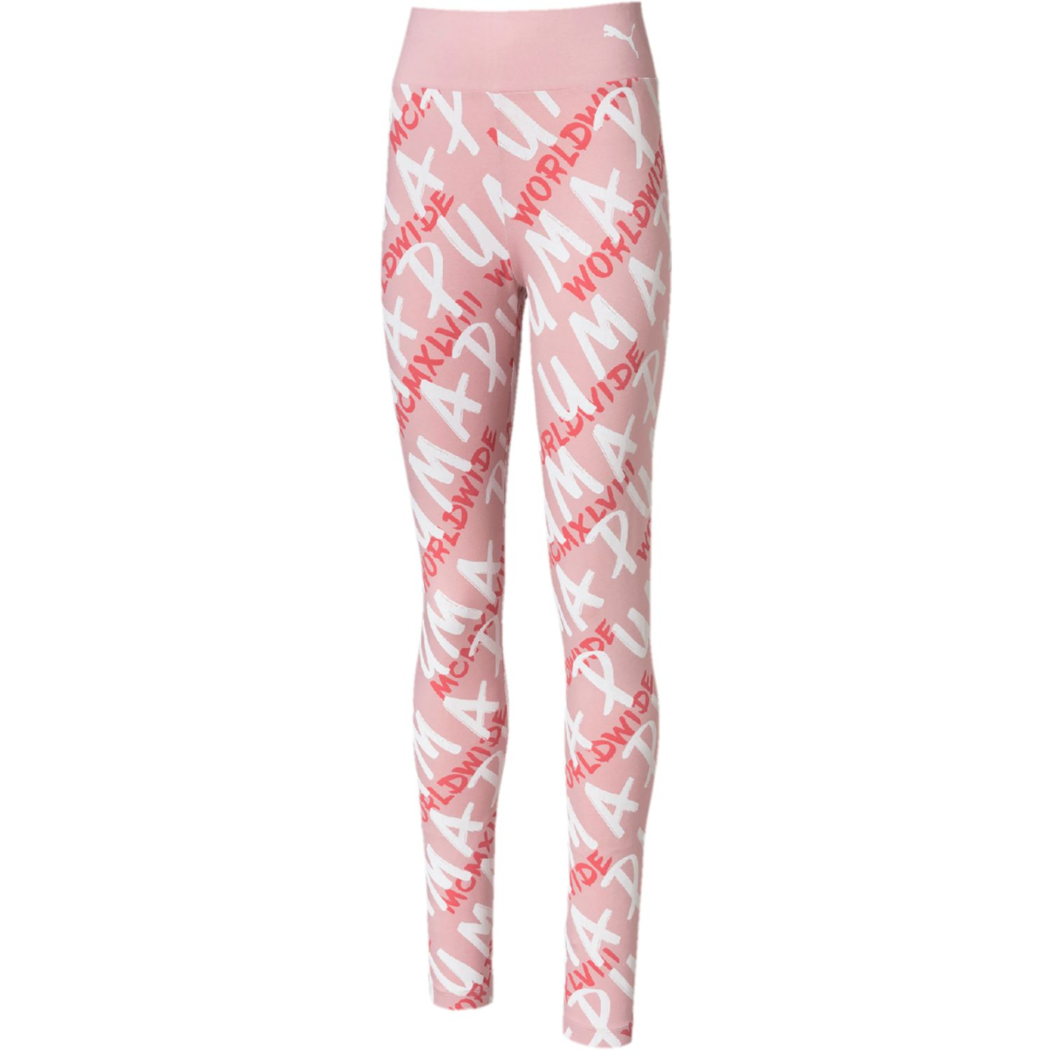 Puma alpha aop leggings g Rosado Leggings Deportivos