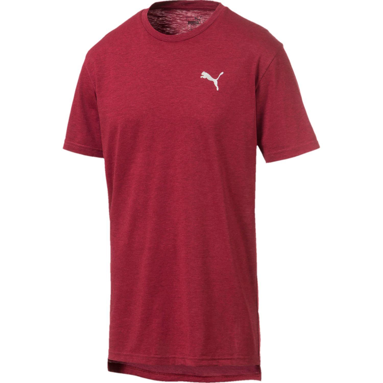 Puma energy ss tee Rojo Camisetas y Polos Deportivos