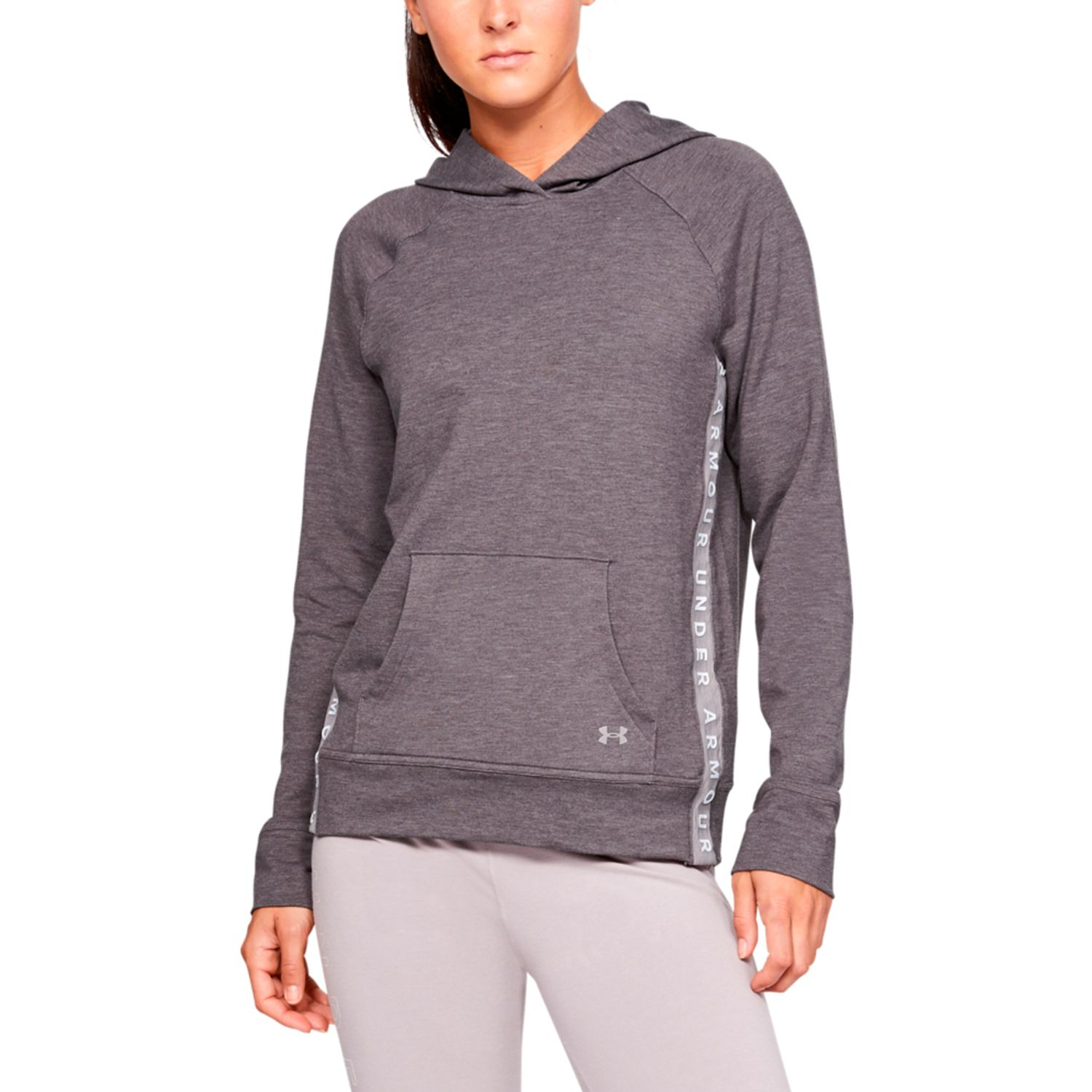 Under Armour Featherwt Fl Hoody Gris Hoodies Deportivos