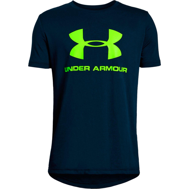 Under Armour sportstyle logo ss Negro Camisetas y Polos Deportivos