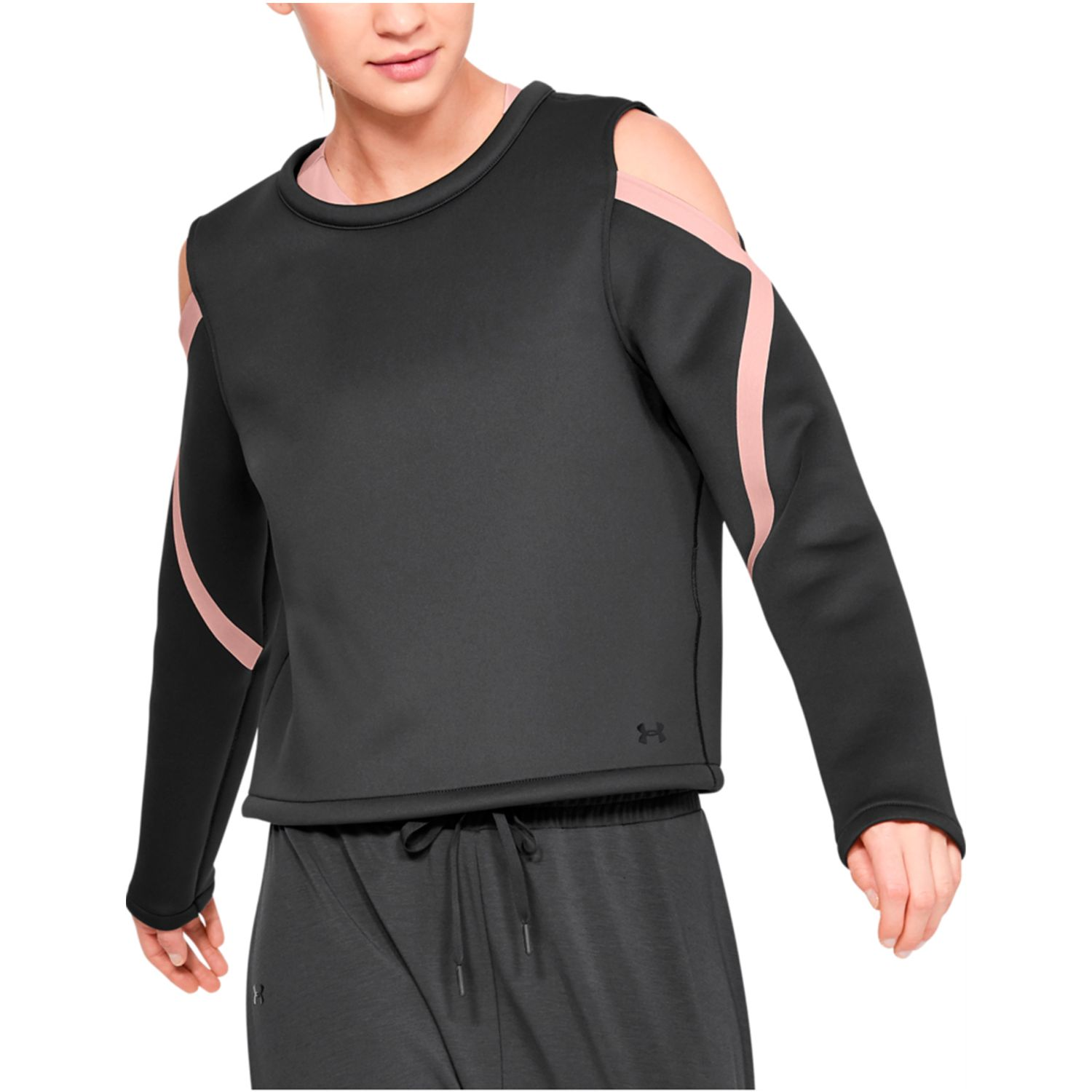 Under Armour misty signature long sleeve spacer Negro Pullovers