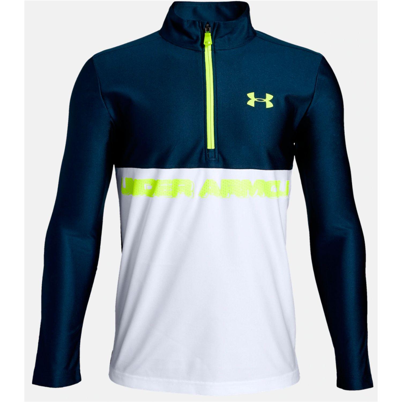 Under Armour tech 1/2 zip Azul / blanco Sweatshirts Deportivos