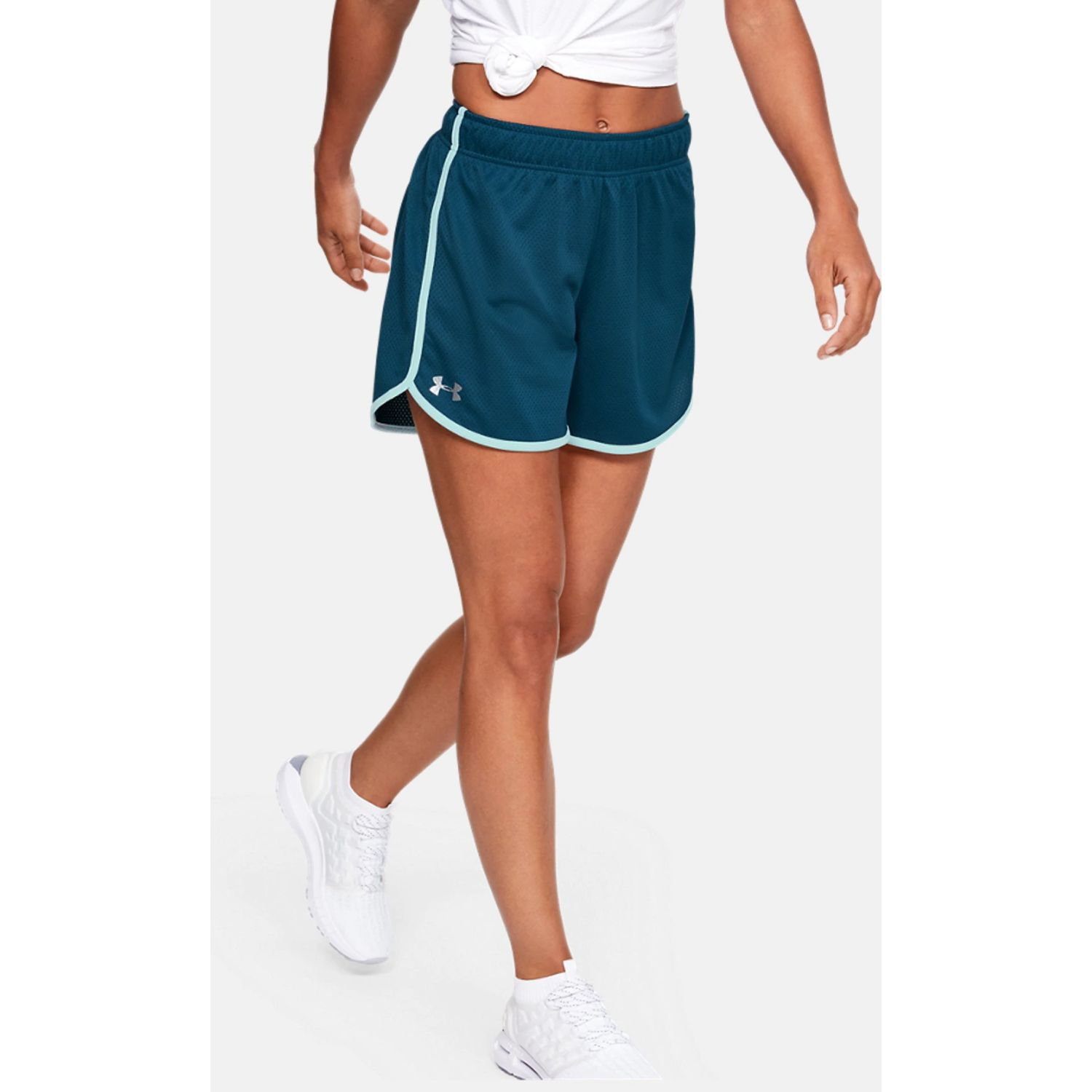 Under Armour tech mesh short 5 inch Azul Shorts Deportivos