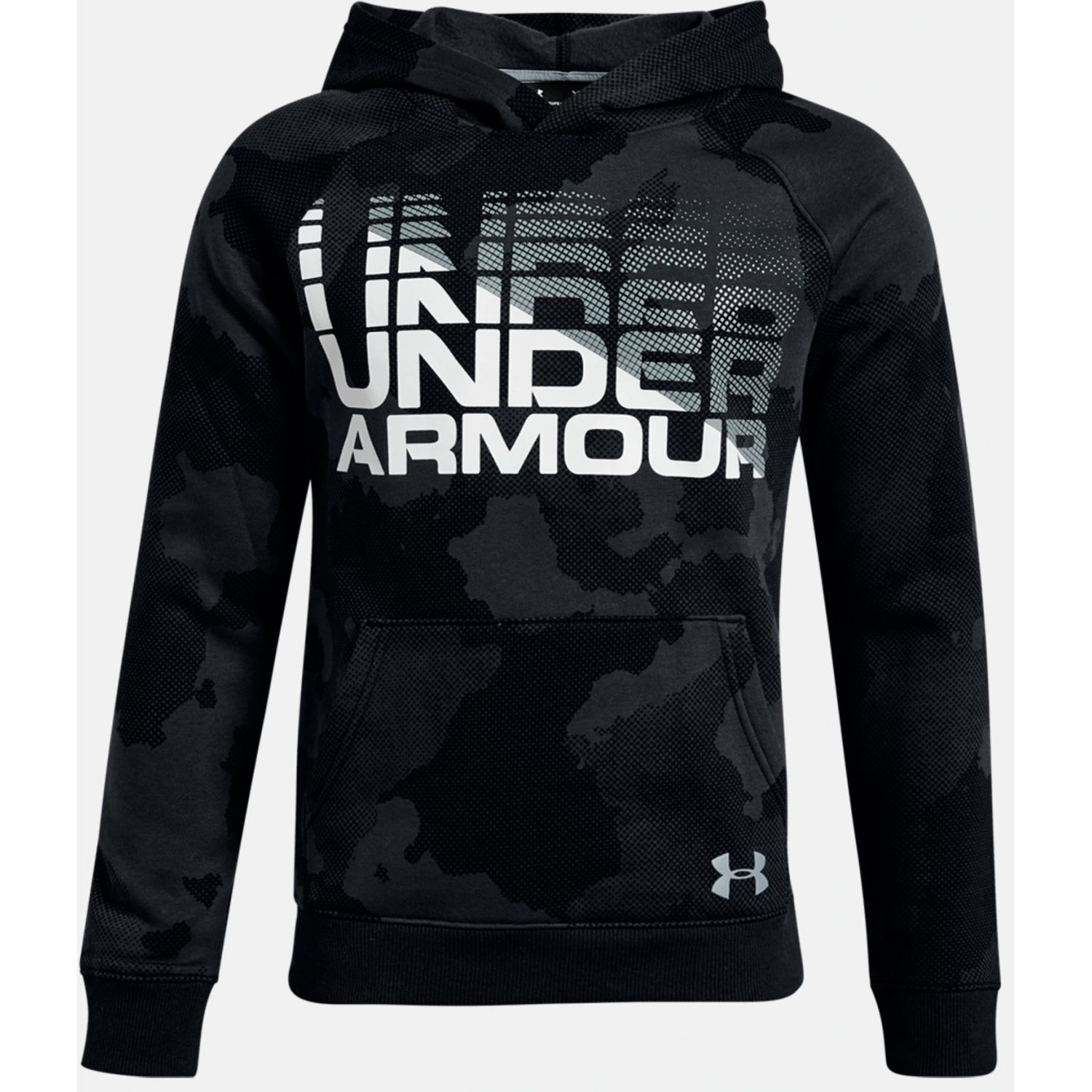 Under Armour Rival Wordmark Hoody Negro Sweatshirts Deportivos