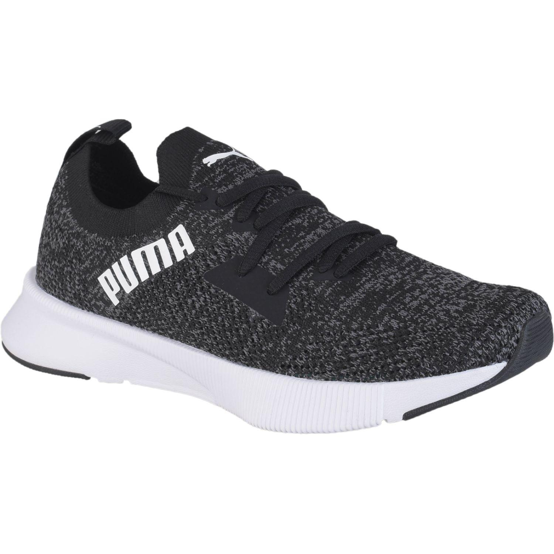 Puma Flyer Runner Engineer Knit Wn'S Negro Calzado de correr