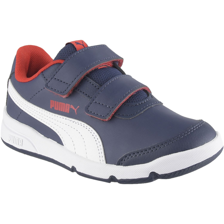 Puma Stepfleex 2 Sl Ve V Ps Azul Para caminar